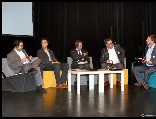 Panel discussion in Kortrijk compared waste policies in the 4 Member States